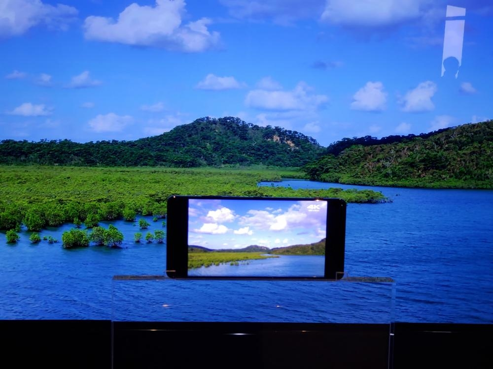 內置BRAVIA OLED TV及X-Reality for Mobile等顯示技術。
