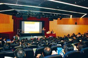 「常識新課程系列:STEM到火星」研討會吸引一百四十位老師到場「取經」。