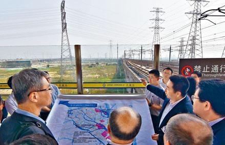 科大廣州分校選址南沙區慶盛高鐵站旁,佔地一點一三平方公里。