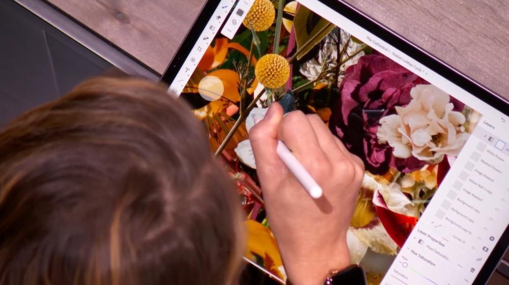 連按兩下第二代Apple Pencil筆桿,即可轉換功能。售價:$999