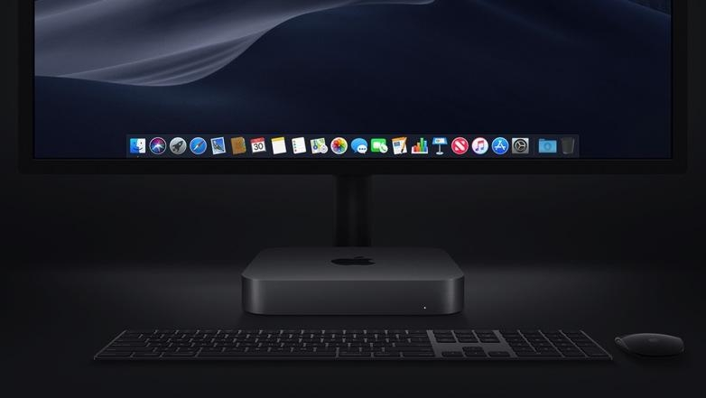 新Mac mini裝有Apple T2保安晶片,安全性進一步提升。售價:$6,499起