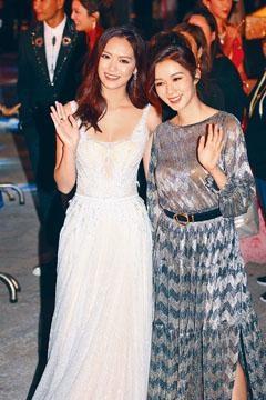 ■馮盈盈(左)與麥明詩,將一起到荷蘭拍攝旅遊節目。