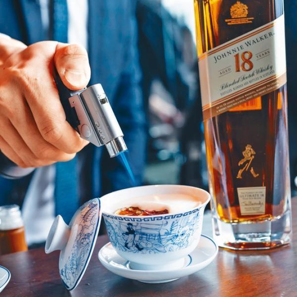 特色茶杯雞尾酒