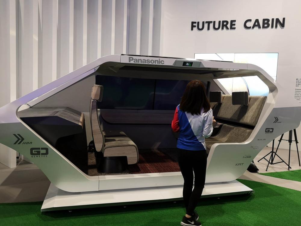 焦點之一新一代智能車廂空間。