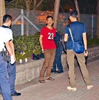 涉用石塊傷人男子被捕時向警員自稱患有精神病。