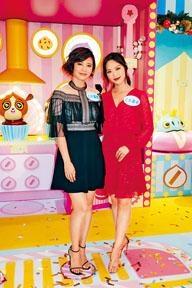 朱晨麗與馮盈盈齊齊出席聖誕活動。