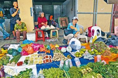 沙巴亞庇  農民市集