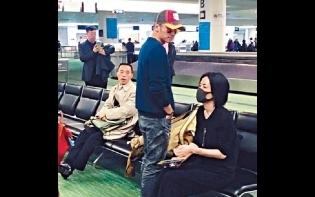 又拍拖外遊 霆鋒王菲機場被「捕獲」