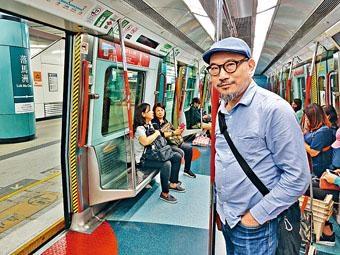 馮惠基每朝早上八時四十五分乘港鐵往落馬洲過關。