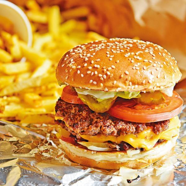 任加配料 美味爆汁漢堡