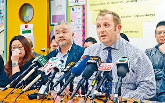 朗思國際學校教師代表Robert Burns指,復課後校方須重新編排各班使用操場時間,部分學生上學時間須提早。