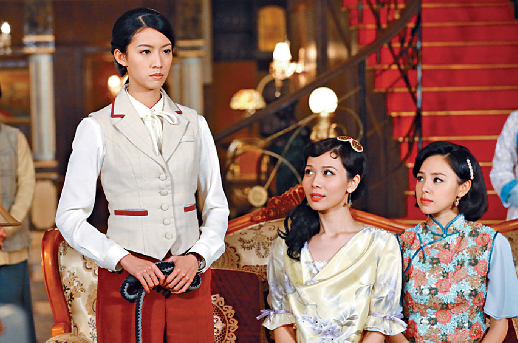 ■劇中「大帥哥」有三個老婆,健仔話無分大小一樣愛。