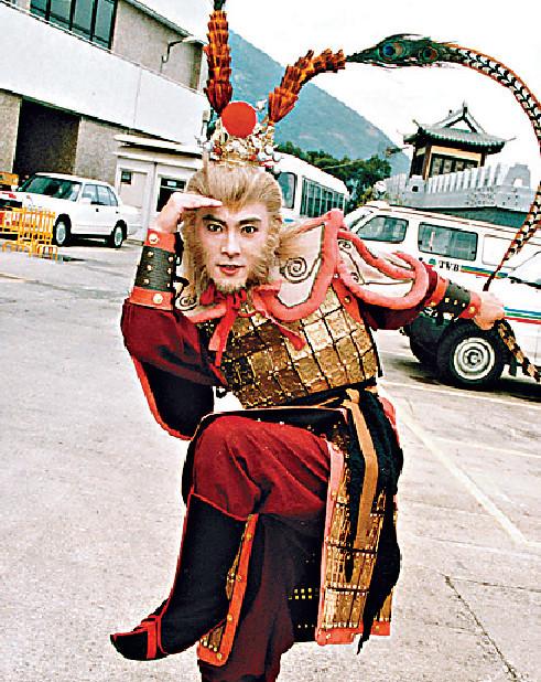 ■96年健仔在TVB劇《西遊記》演「孫悟空」大受歡迎。