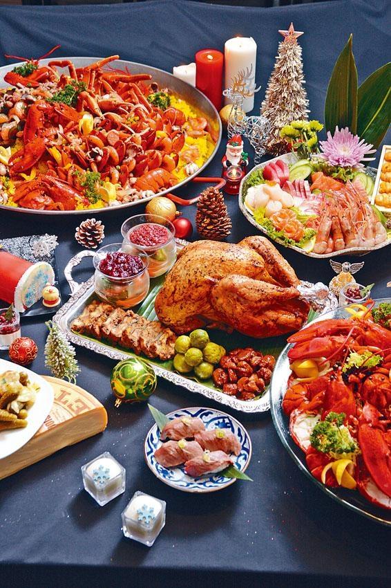 海鮮自助晚餐豐富多元,聖誕期間每位也不用一千元,算是相當划算。