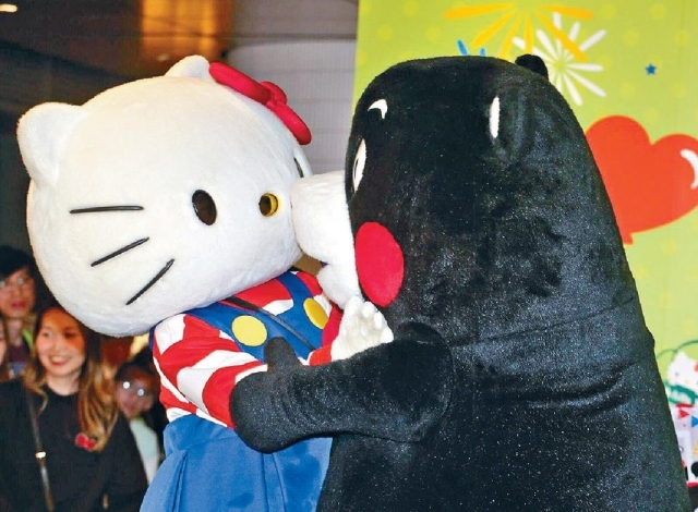 ■Hello Kitty同KUMAMON在一田等緊你嚟!