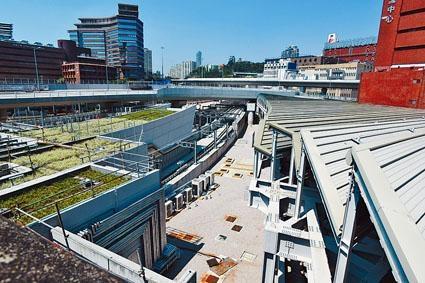 沙中綫紅磡站工程大致完成,只正等調查最後結果,才可知通車日期。
