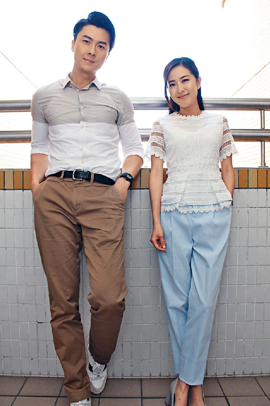 ■王浩信和唐詩詠呢對熒幕情侶再度合作更有默契,一埋位就交到戲。