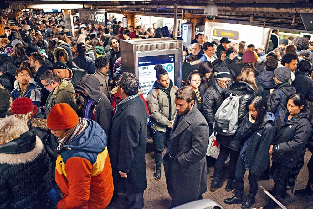 紐約市的公共交通系統問題叢生,未來更要面對龐大資金缺口。Julia Gillard/紐約時報