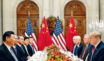 中美元首上周六在阿根廷會晤,恢復貿易談判。