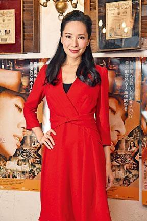 郭羡妮表示最難忘一場戲在密斗車拍攝執拾梅姐的遺物。