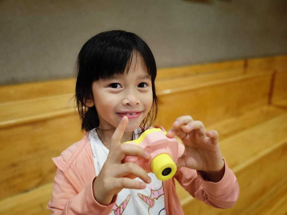 HappiCAMU是專為5至10歲的小朋友而設。