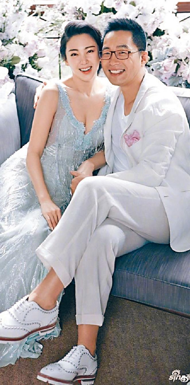 ■32歲的張雨綺,16年與富商袁巴元再婚。