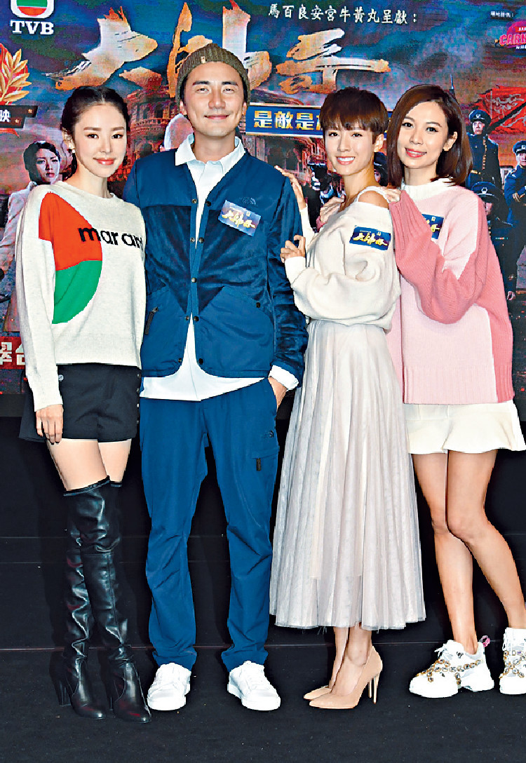 ■Tony劇透結局篇的馬炭會更加乞人憎,而楊秀惠(右)和譚凱琪(左)在《大帥哥》演出被讚。