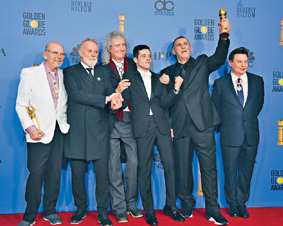 ■《波希米亞狂想曲︰搖滾傳說》獲最佳電影獎。美聯社