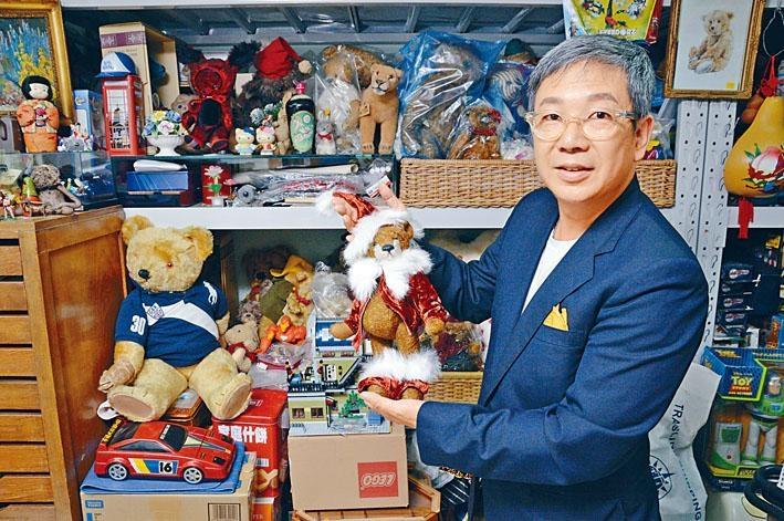本地玩具修復達人李肇澤,為不少玩具主人帶來希望。