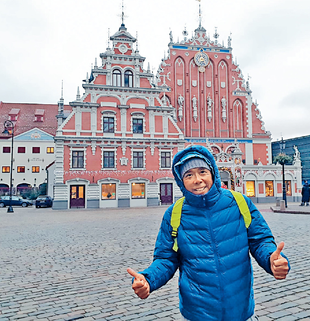 ■顏福偉表示House of the Blackheads是Riga舊城的地標,一定要打卡。
