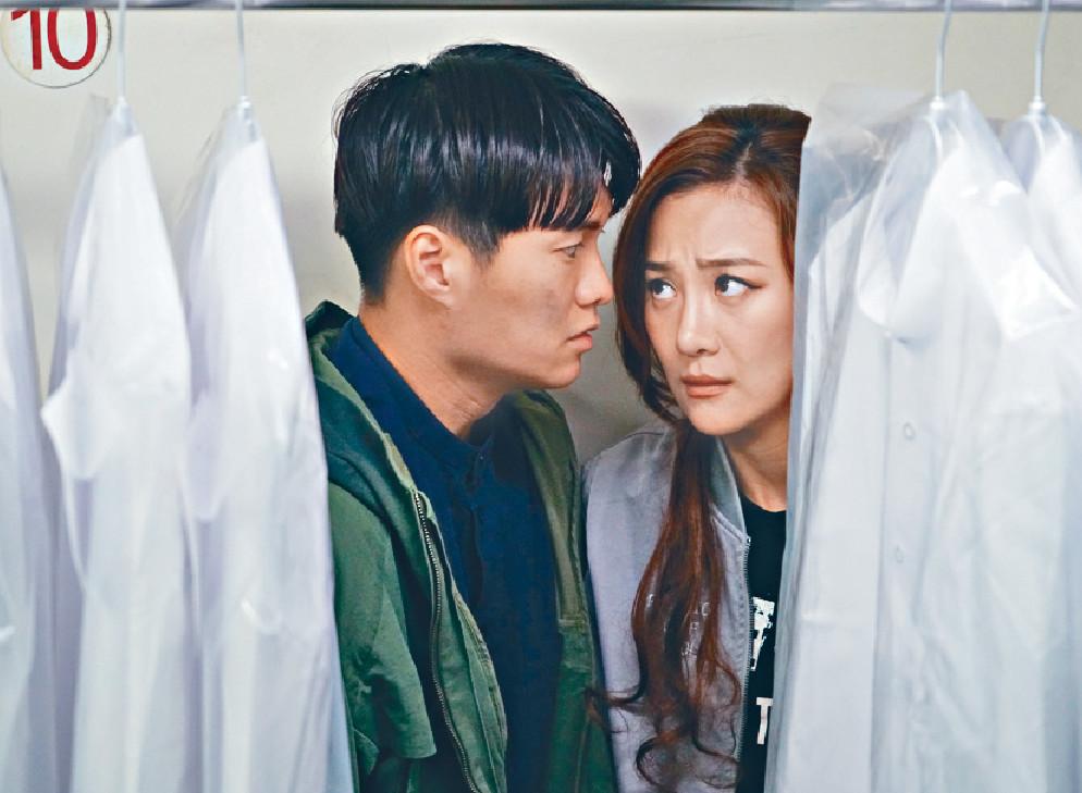 ■劇中「米蘭」(Ashley)曾是「思朗」(胡鴻鈞)的暗戀對象。