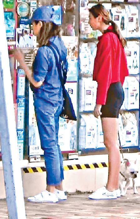 ■兩母女又行去第二間寵物店,狗糧有太多款,實在太難揀。