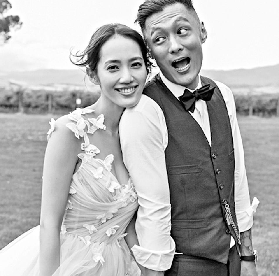 ■17年12月,樂仔和台灣女模王棠云喺墨爾本閃婚,翌年5月榮升父母。