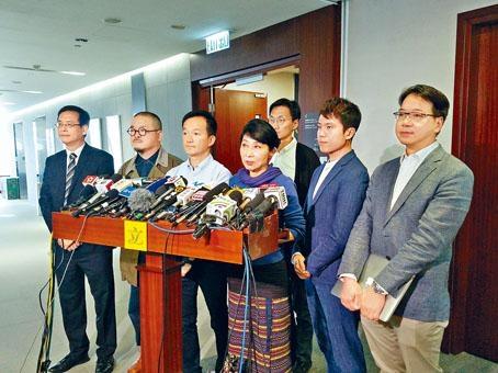 ■毛孟靜呼籲建制派就《預算案》投反對票,惟多名建制議員表明不支持。