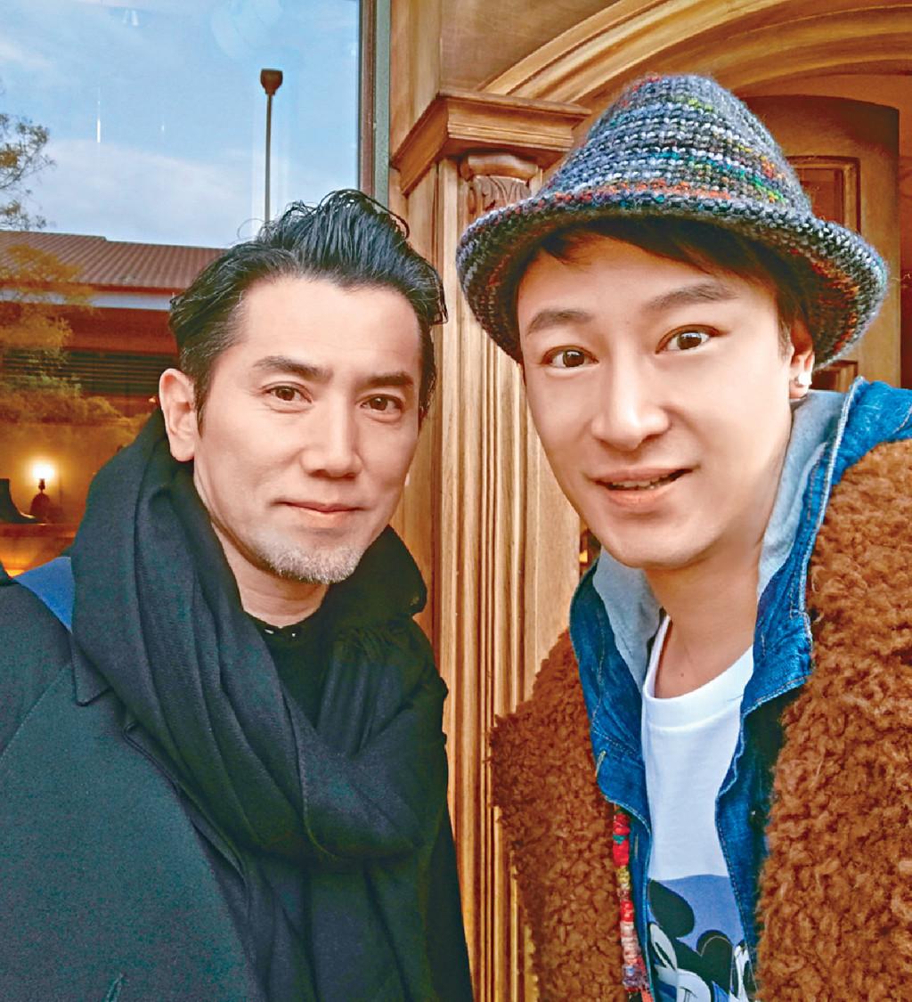 ■Gary在東京街頭遇到偶像本木雅弘。