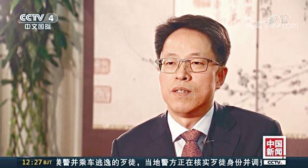 ■國務院港澳辦主任張曉明,接受中央電視台專訪。