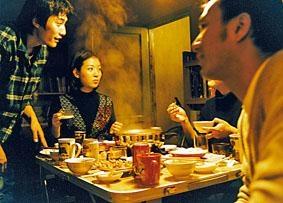《藍宇》中的吃火鍋場面。