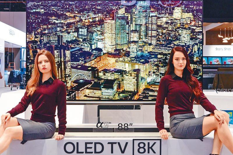 CES高科預覽 8K電視大軍壓境