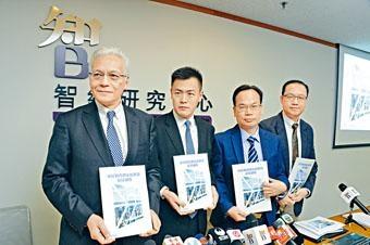 ■智經調查發現三成半人滿意香港法治。
