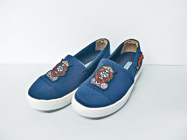 Kinder Rainbow  深藍色布鞋 原價$419  優惠價$169