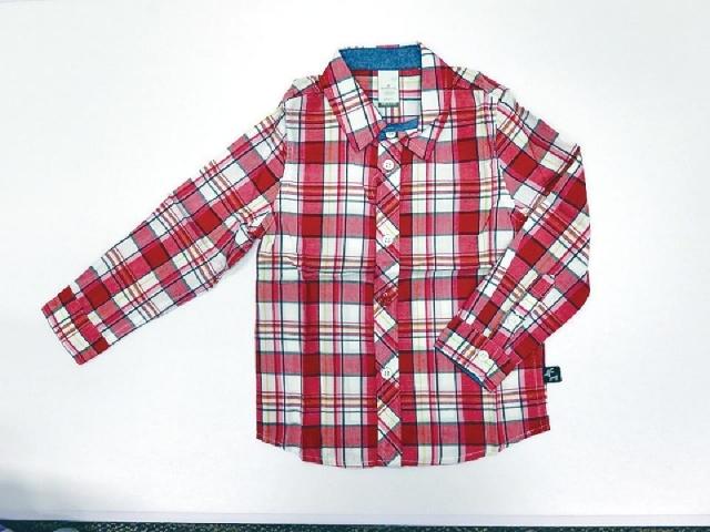 Hallmark Babies  格仔男裝恤衫 原價$378  優惠價$189