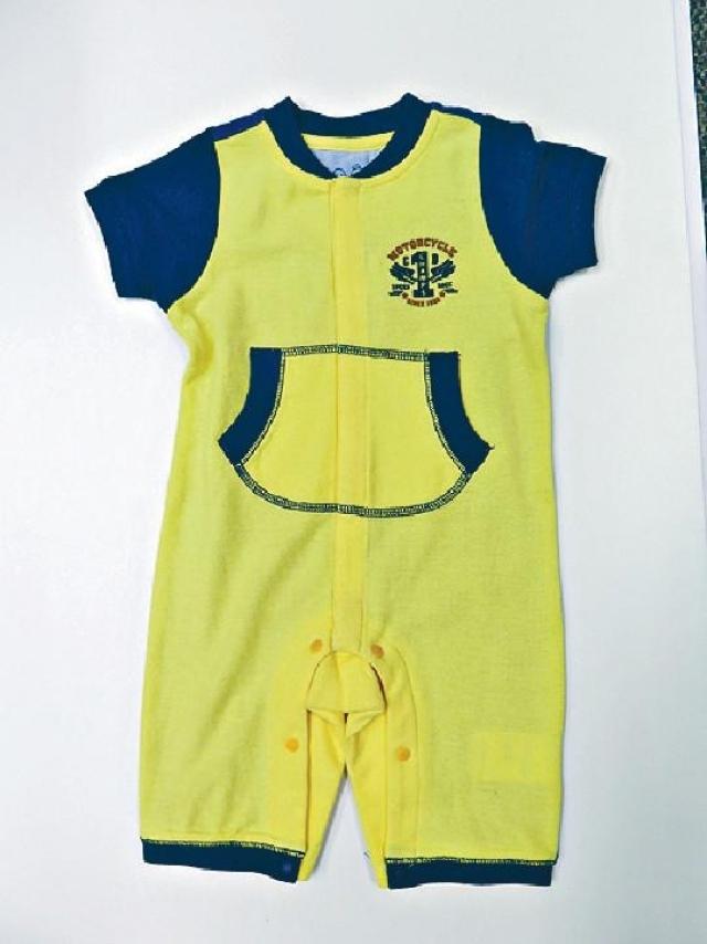 Chickeeduck  初生嬰兒拼色夾衣 原價$400  優惠價$80