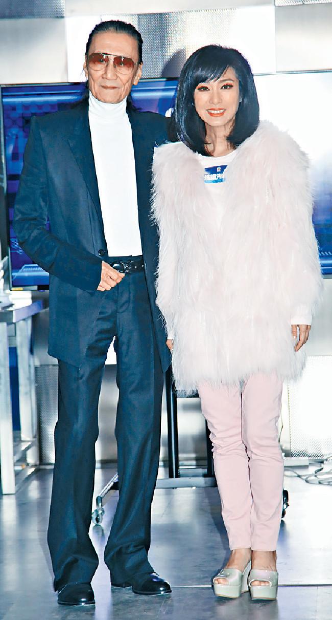 ■謝賢在新劇中與米雪合作。