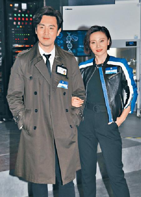■譚俊彥爆朱晨麗在劇中有激打場面。