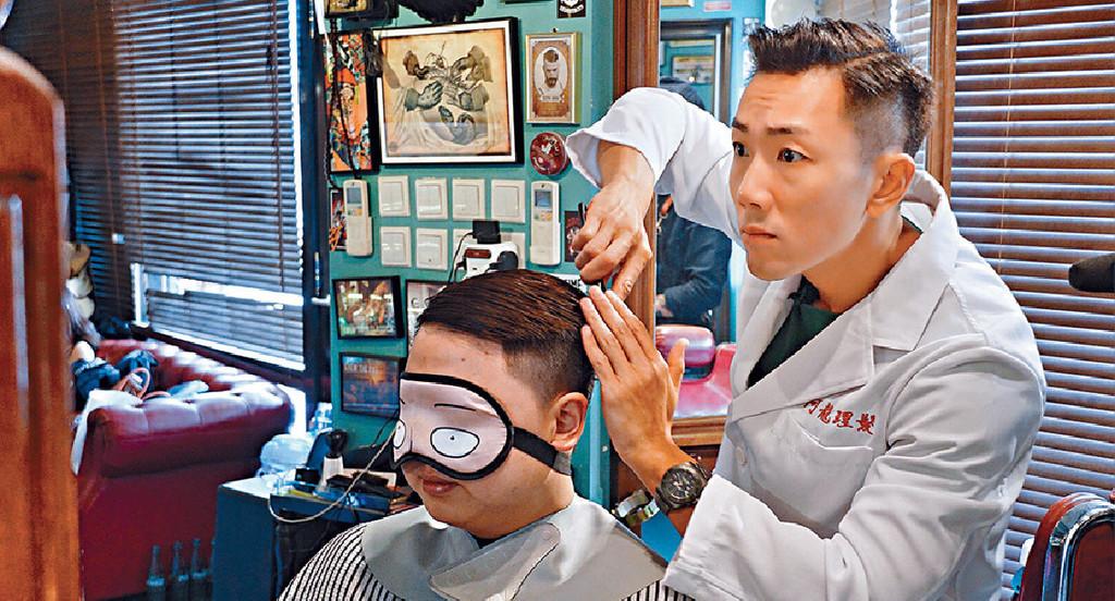 ■早前推出新歌《阿龍理髮》嘅師兄,嚟緊想將香港個唱帶到澳門。