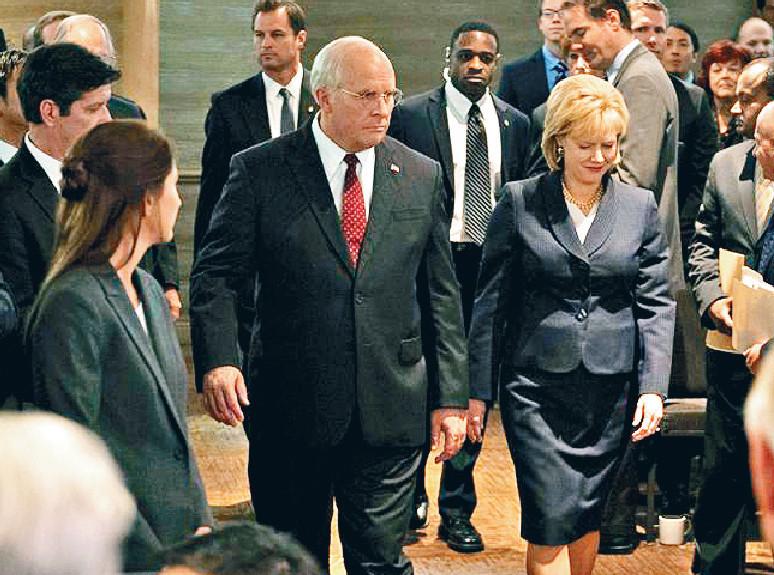 ■基斯頓比爾為《為副不仁》增磅演美國前副總統切尼。