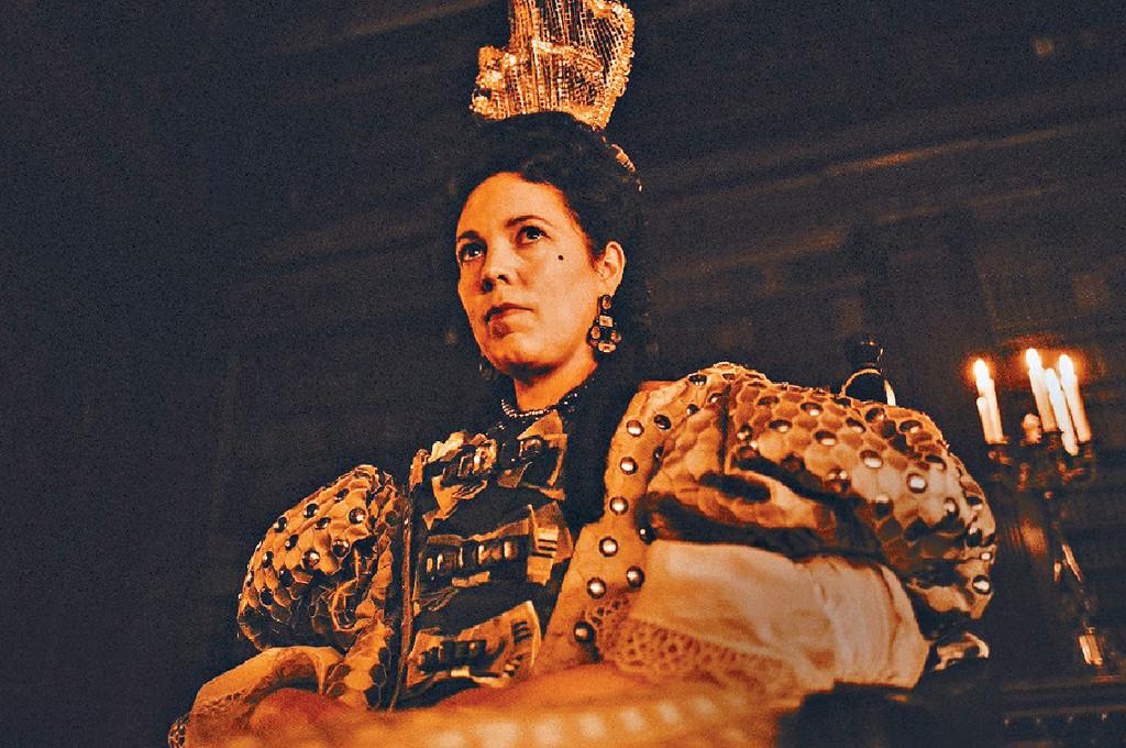■《爭寵》的Olivia Colman是影后大熱人選。