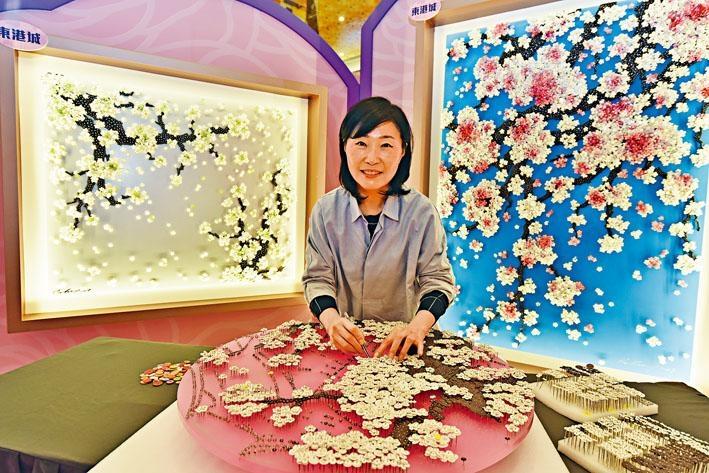 韓國藝術家Ran Hwang首次在港舉行鈕藝作品展。