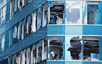 本港去年受「山竹」嚴重破壞,部分建築物及基建嚴重損毀。