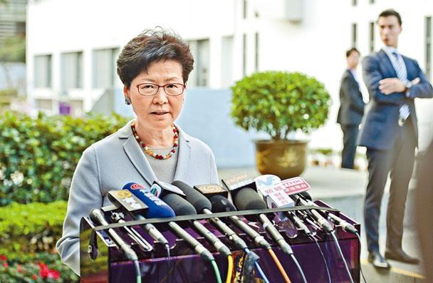 行政長官林鄭月娥昨日坦言對沙中綫揭發多項問題,感到遺憾及失望。